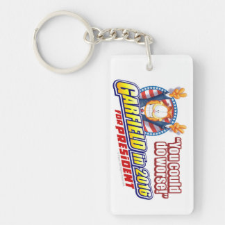 Garfield For President in 2016 Keychain