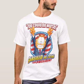 Garfield For President in 2016 T-Shirt
