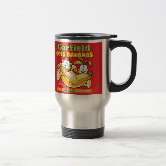 Garfield Goes Bananas Travel Mug