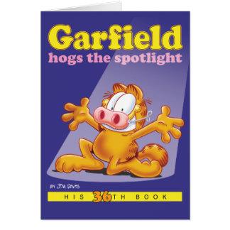 Garfield Hogs la tarjeta de nota del proyector