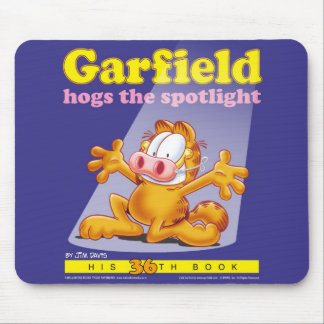 Garfield Hogs The Spotlight Mousepad