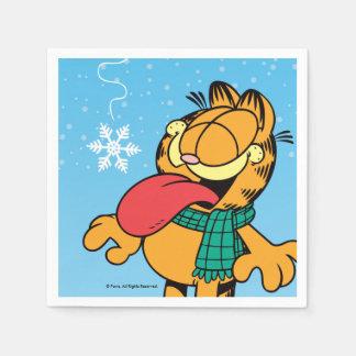 "Garfield ""Let It Snow!"" Paper Napkin"