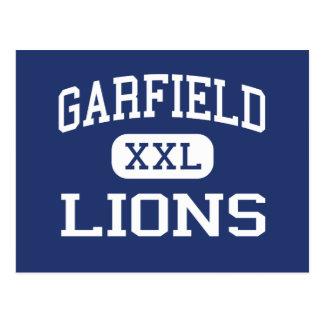 Garfield - Lions - High - San Diego California Postcard