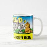 Garfield Logobox Annoy Me Mug mugs