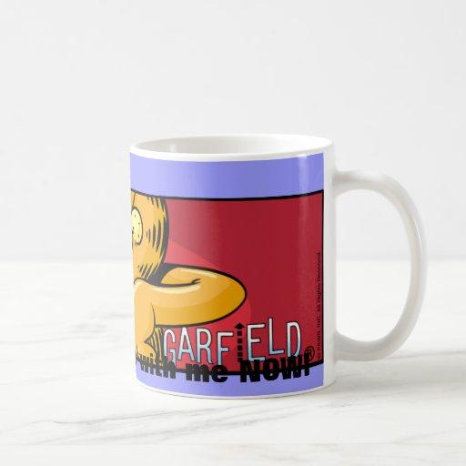 Garfield Logobox está de acuerdo conmigo la taza