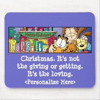Garfield Logobox Loving Holidays Mousepad