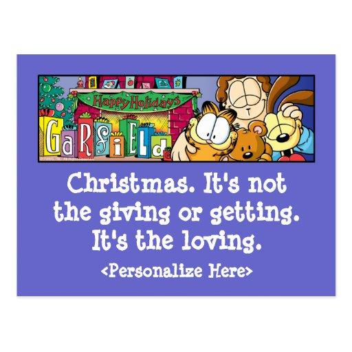 Garfield Logobox Loving Holidays Postcards