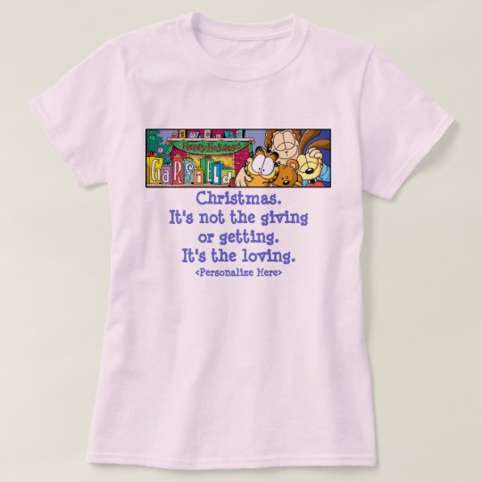 Garfield Logobox Loving Holidays Women's T-Shirt