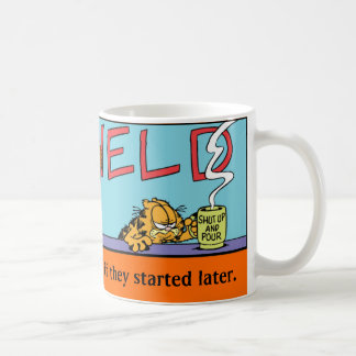 Garfield Logobox Mornings Mug