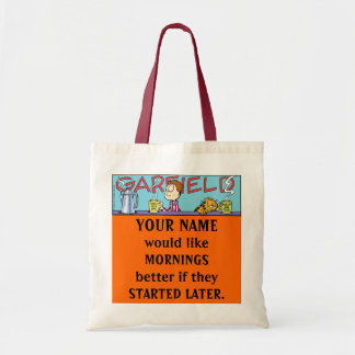Garfield Logobox Mornings Tote Bag