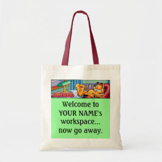 Garfield Logobox Now Go Away Tote Bag