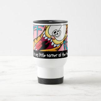 Garfield Logobox poca taza de la esquina del viaje