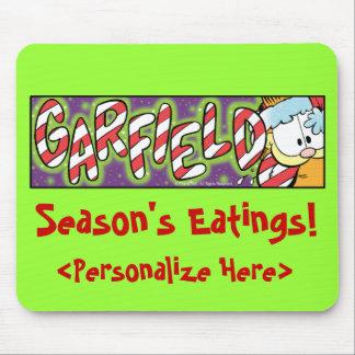 Garfield Logobox Season's Eatings Mousepad