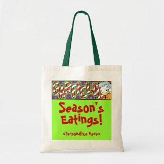 Garfield Logobox Season's Eatings Tote Bag
