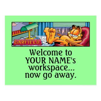 Garfield Logobox va las postales ausentes ahora