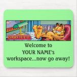 Garfield Logobox va Mousepad ausente ahora