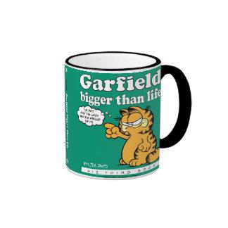 Garfield más grande que la taza de la vida