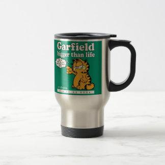 Garfield más grande que la taza del viaje de la vi
