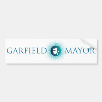 "Garfield Mayor ""Arctic Sun"" Bumper Sticker"