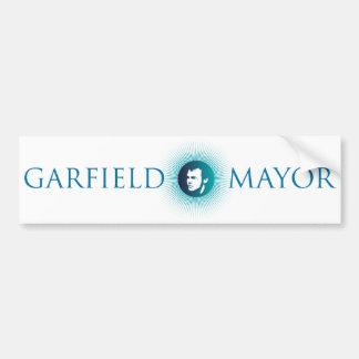 "Garfield Mayor ""Arctic Sun"" Bumper Sticker Car Bumper Sticker"