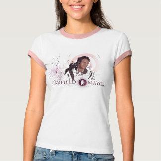 """Garfield Mayor """"Journey"""" Ladies Ringer T-Shirt"""