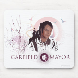 Garfield Mayor Journey Mouse Mat Blue Mouse Pad