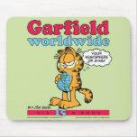 Garfield Mousepad mundial Alfombrillas De Raton
