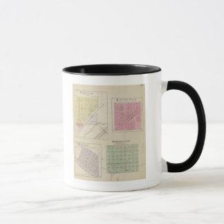 Garfield, Pawnee Rock, Heizer, Hoisington, Kansas Mug