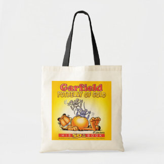 Garfield Potbelly of Gold Tote Bag