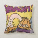 Garfield SMASH! Throw Pillows