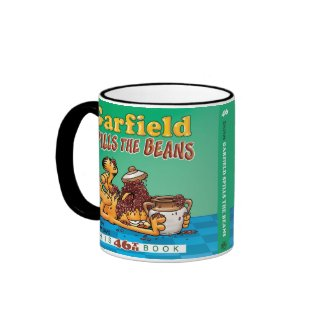 Garfield Spills The Beans Mug mug