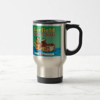Garfield Spills The Beans Travel Mug