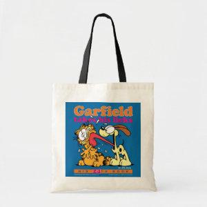 Garfield Takes His Licks Tote Bag bag