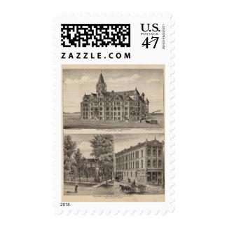 Garfield University, Kansas Postage