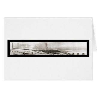 Garfield UT Smelter Photo 1910 Greeting Cards