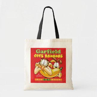Garfield va la bolsa de asas de los plátanos