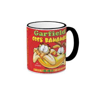 Garfield va taza de los plátanos
