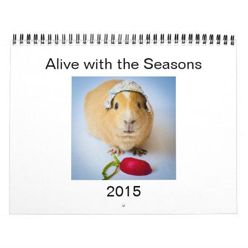 Garfunkel, the guinea pig, 2015 Wall Calendar.