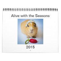 Garfunkel, the guinea pig, 2015 Wall Calendar. Calendar