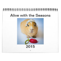 Garfunkel, the Guinea Pig, Seasonal Tips Calendar