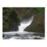 Garganta de Columbia de la cascada Postales
