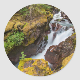 Garganta de la avalancha en Parque Nacional Pegatina Redonda