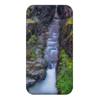 Garganta de Sunrift en el Parque Nacional Glacier, iPhone 4 Fundas