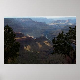 Garganta del granito en el Gran Cañón 4726 Poster