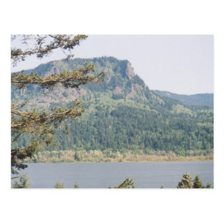 Garganta del río Columbia Tarjeta Postal