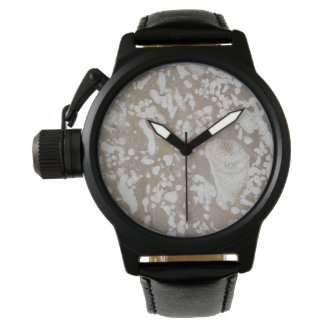 Garganta fósil devoniana reloj