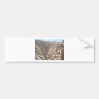 Garganta real pegatina de parachoque