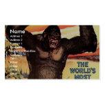 Gargantua The Great Retro Theater Business Cards
