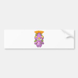 Gargona Pinky Car Bumper Sticker