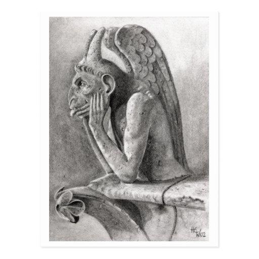 Gargoyle 3 postcards